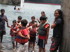 Rohini & her merry band of sailors!