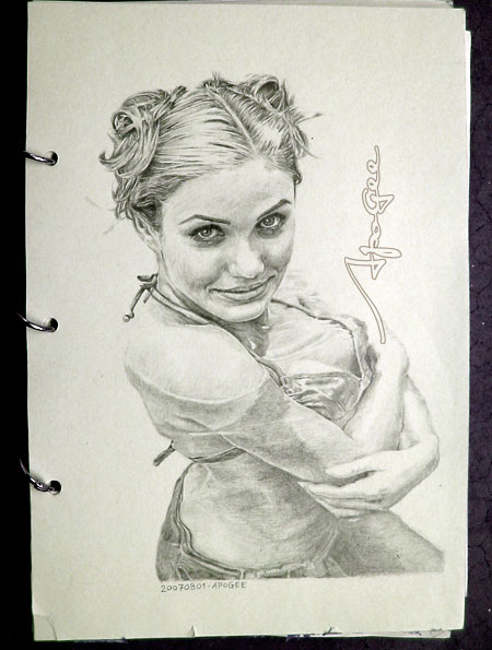 Cameron Diaz Sketch