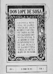 La revista Don Lope de Sosa: crónica mensual de la provincia de Jaén