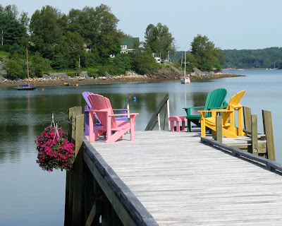 Mahone Bay pier