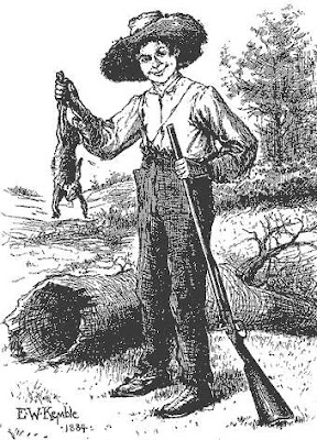 a fatherly figure for huck finn Huck finn literary analysis  by portraying a fatherly figure to huck  twain describes jim as being a compassionate figure, acting as a father to huck and.