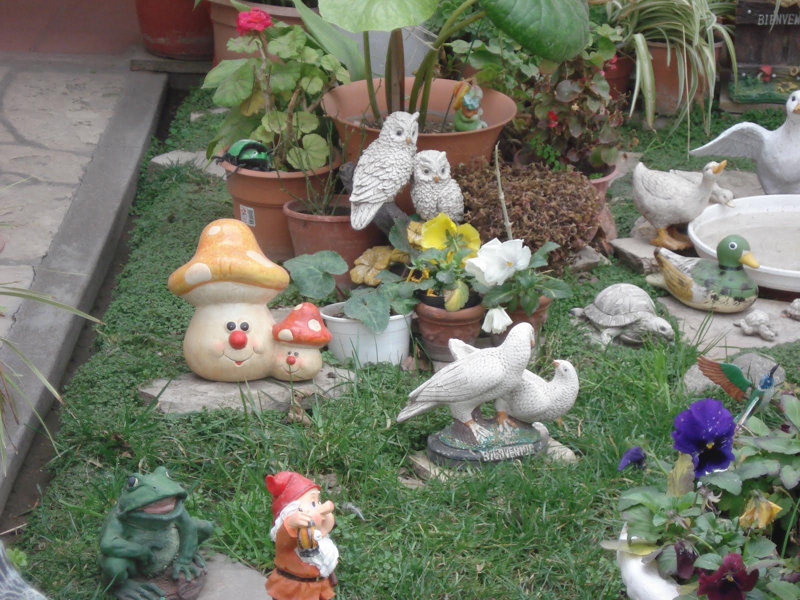 La bah a perdida enanos de jard n for Arbustos enanos para jardin