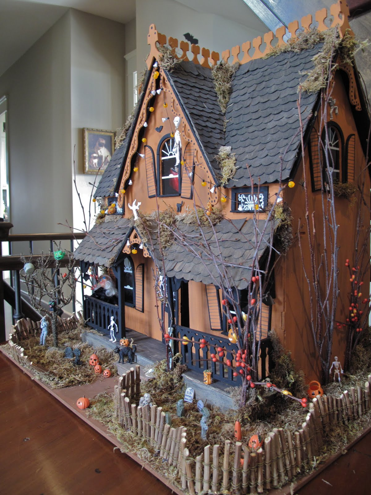 Haunted house ideas on pinterest haunted houses haunted for Good themes for a haunted house