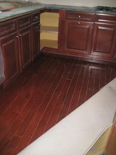 Thoman house our future kitchen for Hardwood flooring zimbabwe