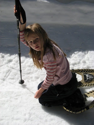 Bay Area Outdoors and Beyond Showshoeing in Yosemite Now is