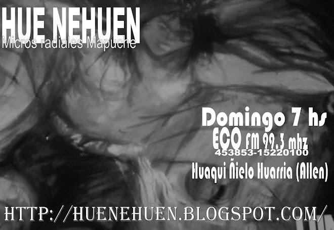 Hue nehuen en Huaqui ñielo