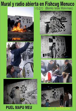 Mural en Fishcug Menuco