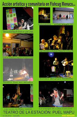 Actividad artistica y comunitaria.