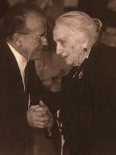 Santiago Carrillo y Dolores Ibarruri (La Pasionaria)
