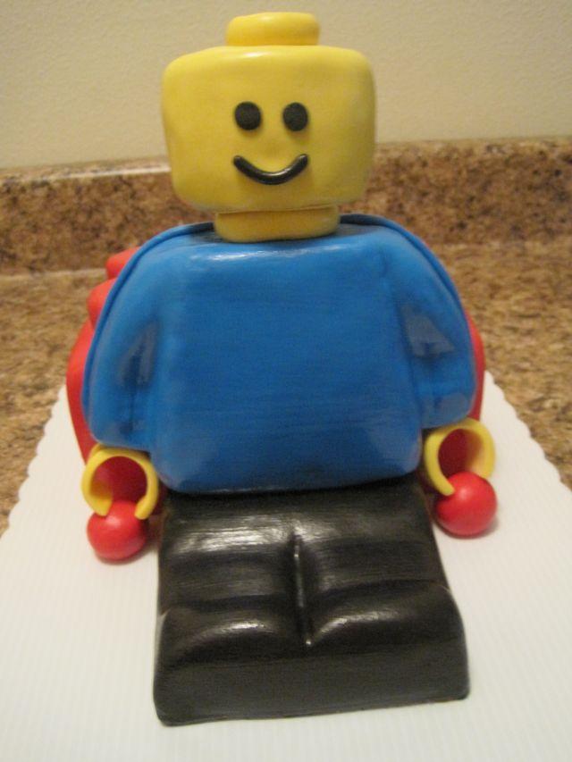 Your Happy Baker: Lego Man Cake