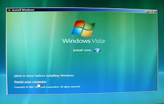 Windows Vista Recovery 2