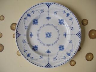 BYOV: bring your own vegetables: Found in TJMaxx: Blue Denmark Plateware