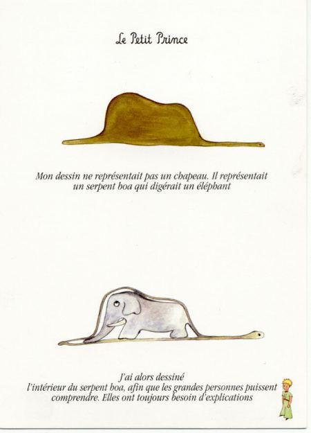 Citaten Kleine Prins : La boa que se comió al elefante el club de los domingos