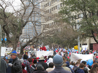 2009 Texas Rally for Life crowd