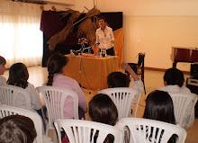 ¡Estuvo buenísimo en General Pico! Los chicos hicieron miles de preguntas!