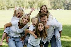 Harr Family waiting for Caleb