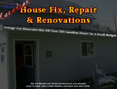 Canadian House Fix, Repair and Renovations