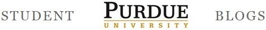 Purdue Student Blogs