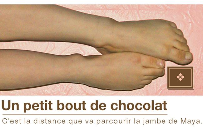 Un petit bout de chocolat