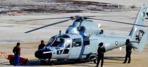 Delivery in Pakistan made Z-9EC anti-submarine helicopters
