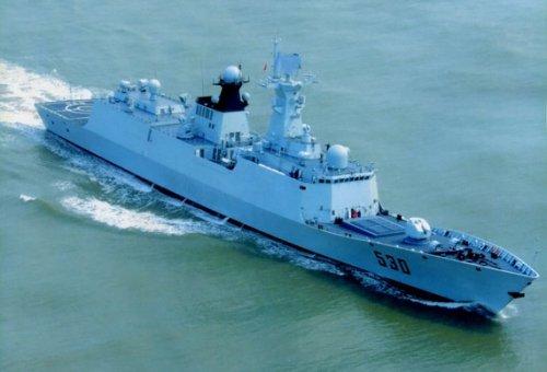 Chinese 054A-class frigate