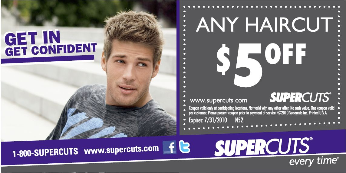 Haircut Coupons Supercuts Printable Freebies Assalamualaikum Cute