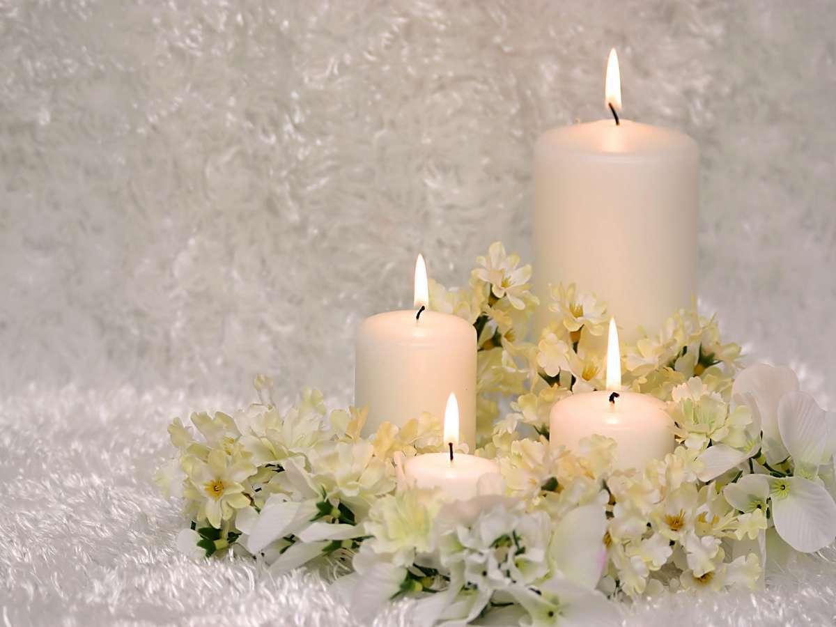 Novembre 2010 immagini e sfondi per ogni momento - Centro tavola con candele ...
