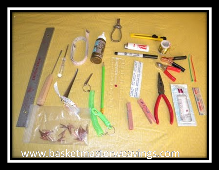 Basket Making Tools Supplies : Basketmaster s weavings back to basics of basket weaving