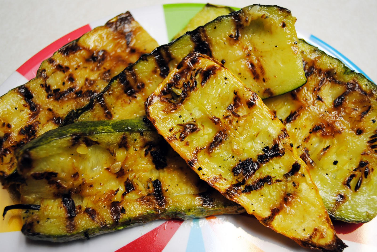 Grilled Zucchini/Summer Squash Recipe — Dishmaps