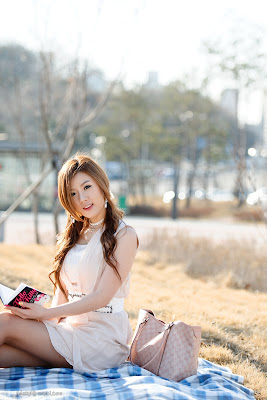Hwang Mi Hee Spring Season Spring Style