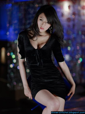 korean hot model hwang  mi hee