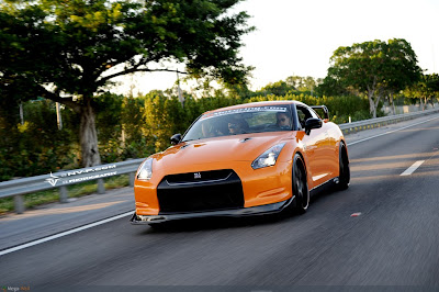 NISSAN SKYLINE  VQ Lambo Orange GTR