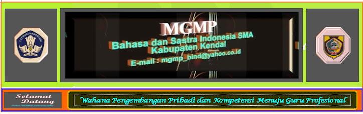 MGMP BAHASA DAN SASTRA INDONESIA SMA KABUPATEN KENDAL