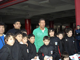 Con el Cholo Simeone