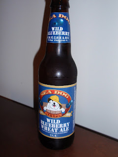 Sea Dog Wild Blueberry Wheat Beer