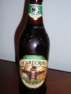 Wychwood Scarecrow Golden Pale Ale - Organic