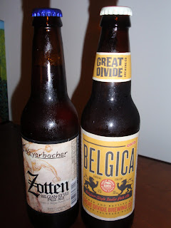 Weyerbacher Zotten & Great Divide Belgica