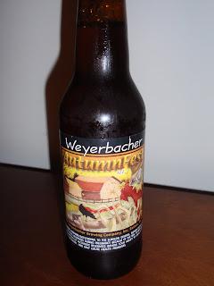 Weyerbacher Autumn Fest Ale