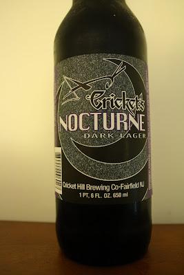 Cricket Hill Cricket's Nocturne Dark Lager