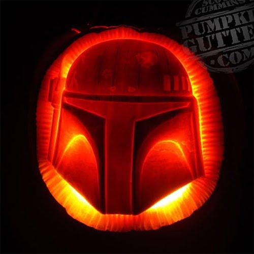 Pumpkin Carving Ideas Star Wars: The Wookiee Hole