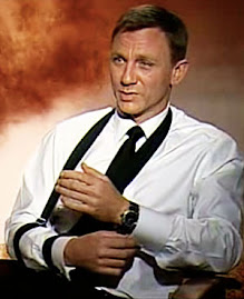 James Bond Wearing Rolex Watch