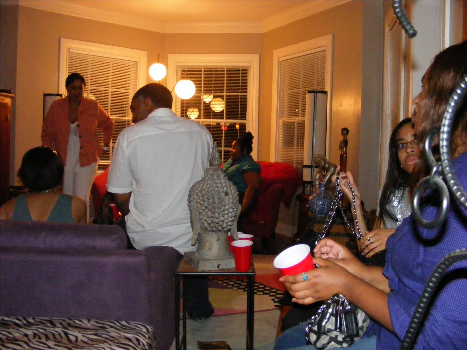 Because Of The Rain Houston Association Black Journalists Backyard Party Turned Into A House Saturday Evening