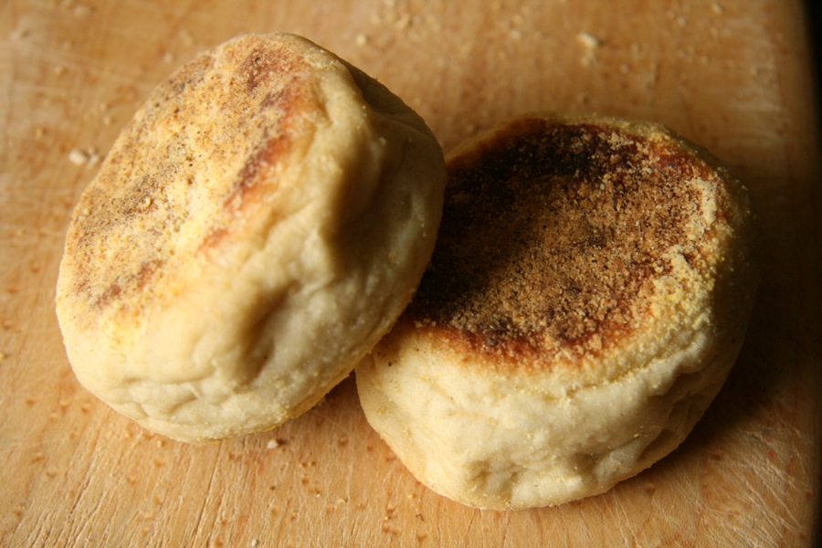 Corner Loaf: Honey Oat English Muffins and English Muffin ...