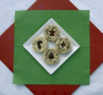 The Dogs Eat the Crumbs: Lemon Poppyseed Jam Sandwich Cookies