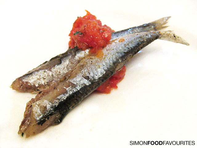 Hamsi: Black Sea sardines olive oil confit style