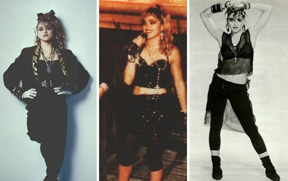 80s Madonna Look - 80s Fashion Fancy Dress