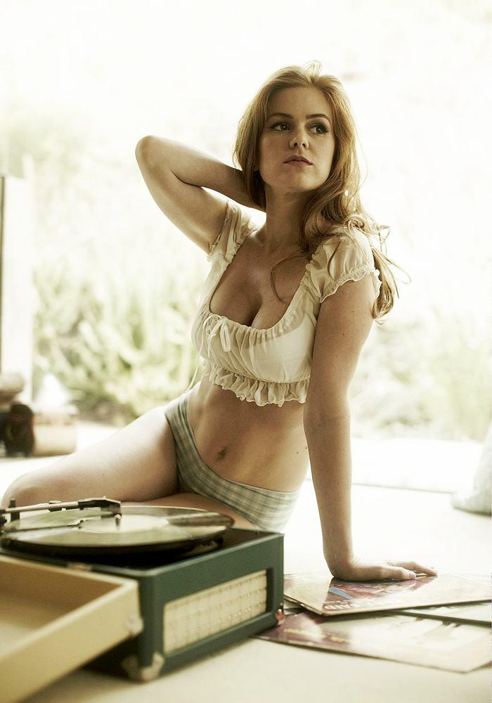 Australian Actress Isla Fisher Hot Pics In Bikini Hot