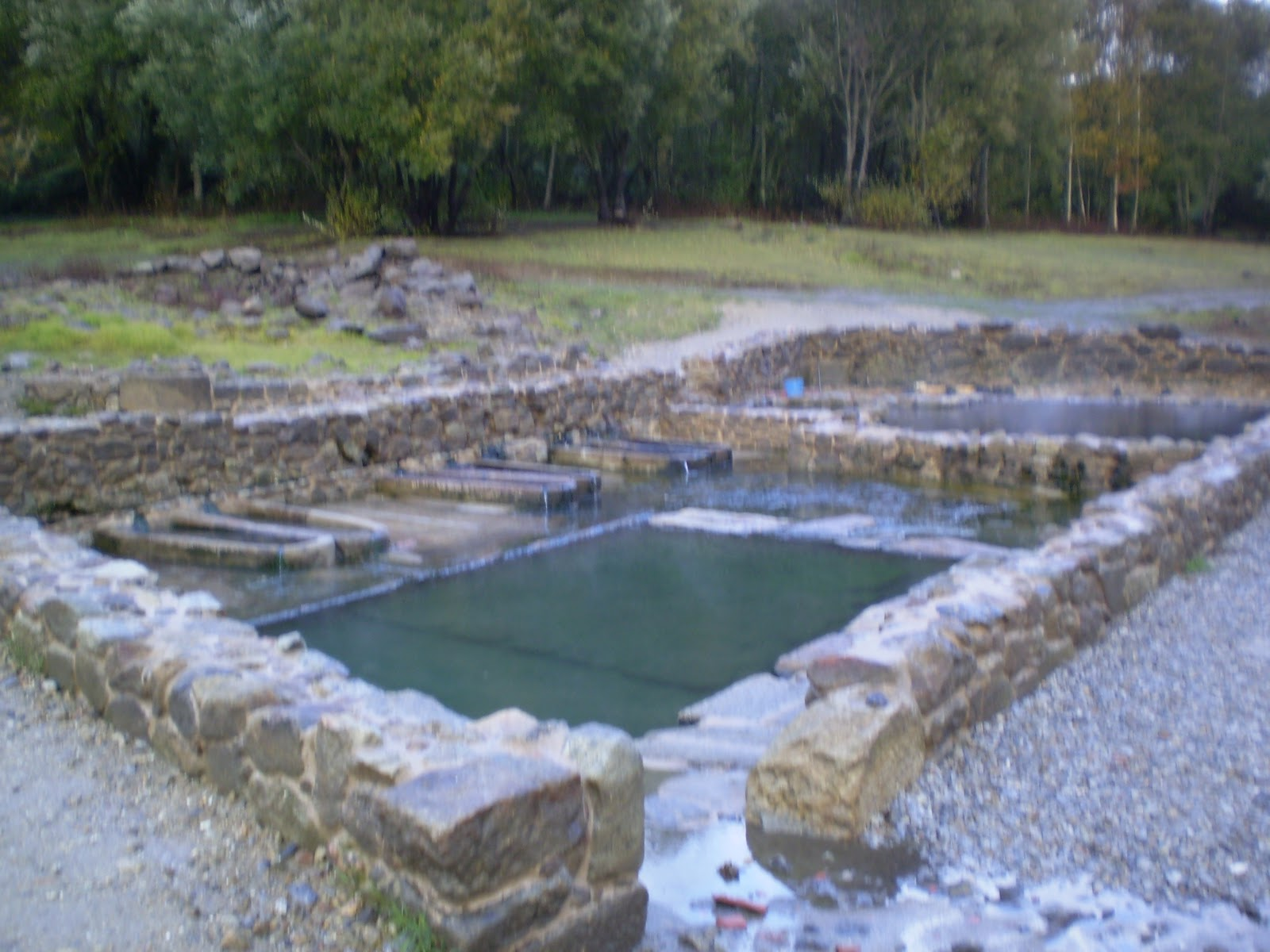 Baños Romanos Ourense:Rumbo a Gran Sol: Termas de O Baño de Bande (Ourense)