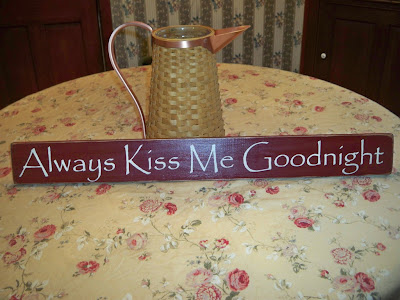 I have lots of new signs listed, including some Valentine and Spring ones.