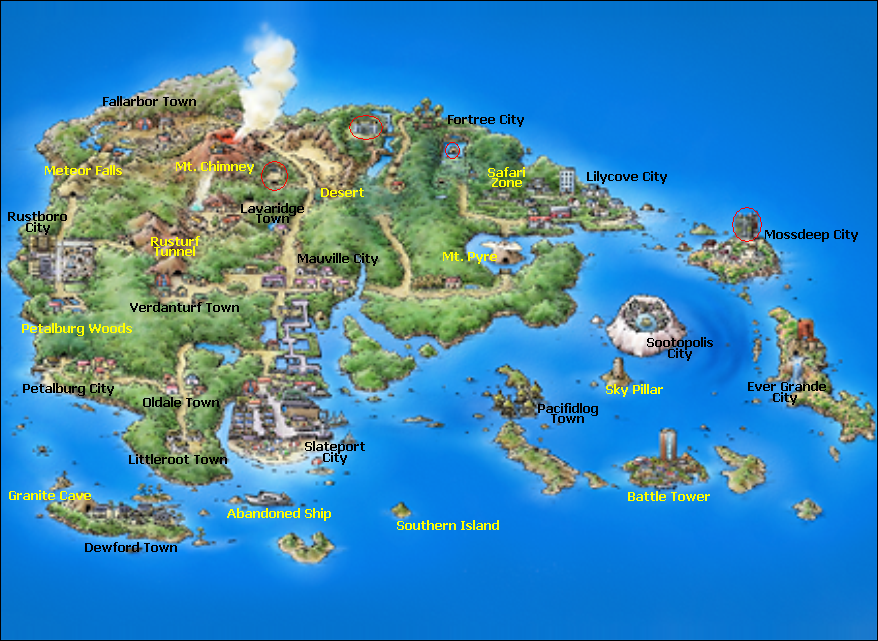 how to get to fortree city in pokemon emerald